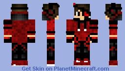 Lava's Skin | Red Hood Boy Minecraft Skin