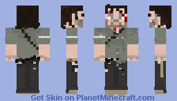 Rick Grimes / The Walking Dead / The Damned Minecraft Skin