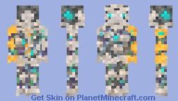 Hypernova - Machine of the future   Cyberpunk Reloaded Skin Contest Minecraft Skin