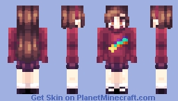 Mabel Pines Minecraft Skin