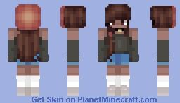 Pixel || i'm falling in love with you Minecraft Skin