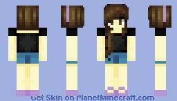 Pixel || Still were'n flip-flops Minecraft Skin