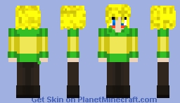Alois as Chara for my Undertale AU BBtale Minecraft Skin