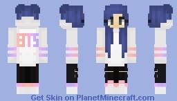 BTS 방탄소년단 DNA - Love Yourself [Girl] Minecraft Skin