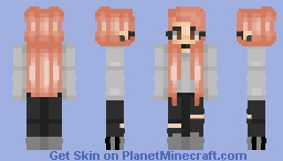 Jhope - Female - Request Minecraft Skin