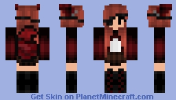 Pirate Girl Skin (Foxy) Minecraft Skin