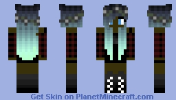 Black Teen Minecraft Skin