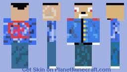 hitler Minecraft Skin