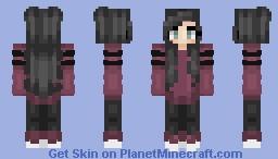 Burrrgundy ~ (Skin Request) Minecraft Skin