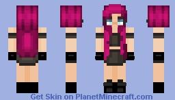 уσυя мαииєяѕ αяє ѕнσωιиg (๔єคภเє) (иєω σ¢) Minecraft Skin