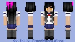anyway here's -- ɐᴉlǝɥdo Minecraft Skin