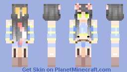 letting the water fall -- remake -- ɐᴉlǝɥdo Minecraft Skin