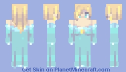 ~スーパースマッシュ兄弟 | ロサリーナ | Super Smash Brothers | Rosalina~ Minecraft Skin