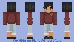 Just let me become a rosebud. Minecraft Skin