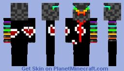 Akatsuki Cyber Ninja Minecraft Skin