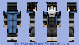 [REQUEST] Takeshi Rukuro (Nartuo) Minecraft Skin