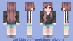Math is a tempestuous lover Minecraft Skin