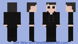 The Outsider [Dishonored 2] Minecraft Skin