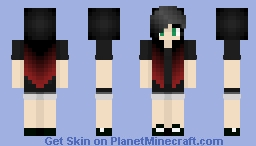 cutegirl.exe has stopped working~ Minecraft Skin
