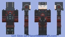 A.T.O.M Minecraft Skin