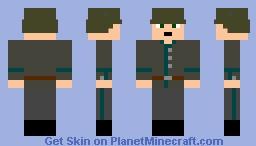 Weimar Republic Soldier 1922 Minecraft Skin