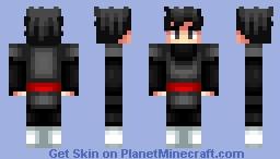 Black Goku Minecraft Skin