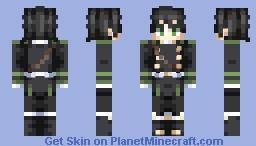 Yuichiro Hyakuya ~ Owari No Seraph Minecraft Skin