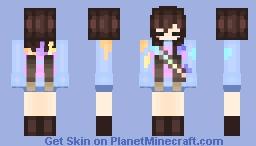 InkTale Frisk Minecraft Skin