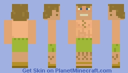 Beach Dude skin Minecraft Skin