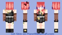 + Maki Nishikino - Bibi ver. + Minecraft Skin