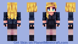 Black Canary Minecraft