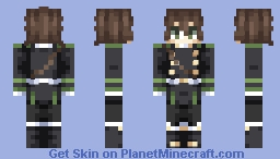 Yoichi Saotome ~ Owari No Seraph/Seraph Of The End Minecraft Skin