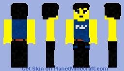 Cole (The LEGO Ninjago movie) Minecraft Skin