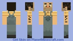 Dumb Miner skin Minecraft Skin
