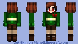 Updated Chara Minecraft Skin