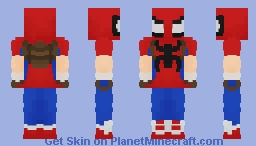 Spider-Man(Marvel Mangaverse) Minecraft Skin