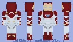 Iron Man (Mk. 47) Minecraft Skin