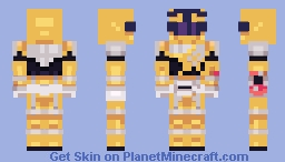 Uchuu Sentai Kyuranger -- Tenbin Gold Minecraft Skin