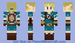 Link - Breath of the Wild Minecraft Skin