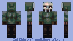 MF DOOM Minecraft Skin