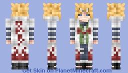 Edo Minato Namikaze Minecraft Skin