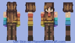 PBSquid~ Be Proud of Who You Love Minecraft Skin