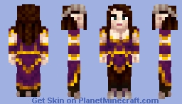 Gaisa the Fauness Minecraft Skin