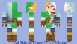 N64 Era Link skins! (8 in total) Minecraft Skin