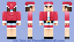 Mall Santa on a break Minecraft
