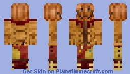 Pumpkin Man (Halloween) Minecraft Skin