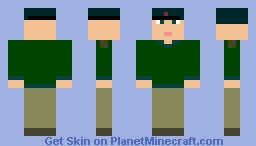 Anti-NWO Militia Leader Minecraft Skin
