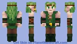 Saliv Wildman Minecraft Skin