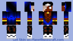 Spectrum A (Project A) Minecraft Skin