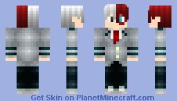 Shoto Todoroki(UA Uniform, My Hero Academia) Minecraft